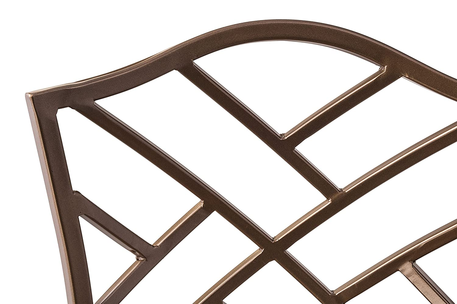 Hillsdale 4815PTBSHR3 3-Piece Hanover Height Bistro Set, 36 , Brown