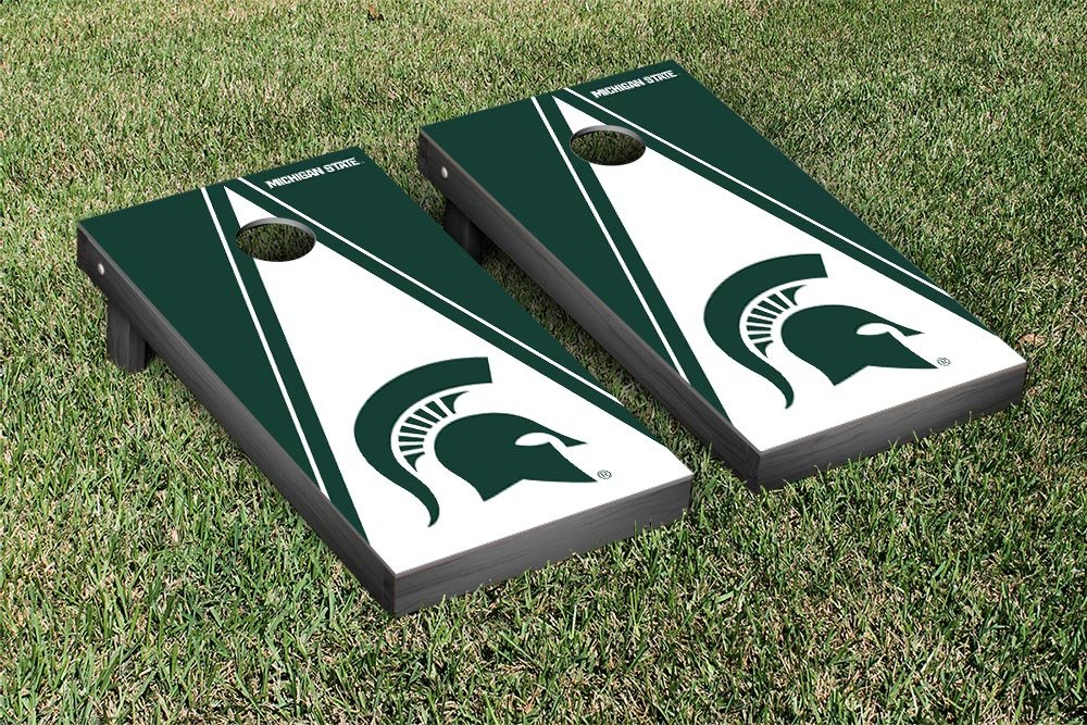 Michigan State Spartans Regulation Cornhole Game Set Triangle Version