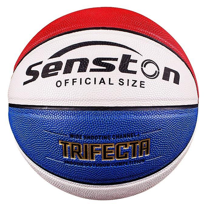 1 opinioni per Senston Pallacanestro Misura 5 ,bimbi e giovani Pallone da pallacanestro, 3