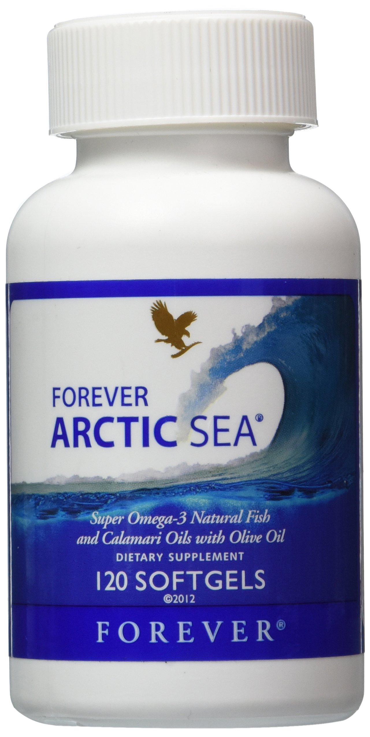 Forever Arctic-Sea super omega-3 natural fish calamari oils with olive oil,