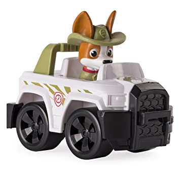 Amazon Com Paw Patrol Rescue Racers Tracker Jungle Pup Toys Games