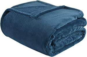 Intelligent Design Microlight Plush Luxury Oversized Blanket Premium Soft Cozy for Bed, Couch or Sofa, King, Teal