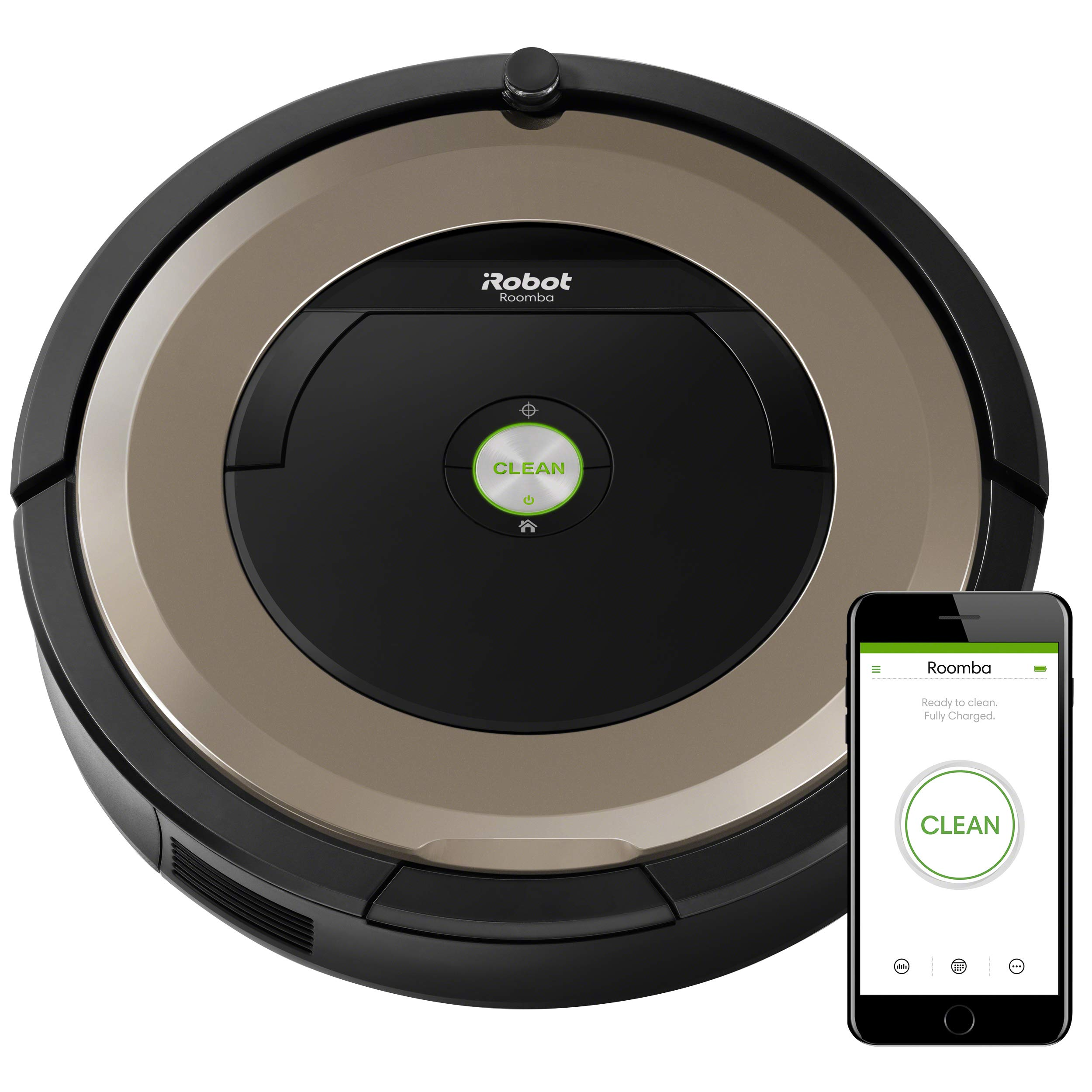 iRobot Roomba 891 Robot Vacuum- Wi-Fi Connected, Works with Alexa, Ideal for Pet Hair, Carpets, Hard Floors by iRobot