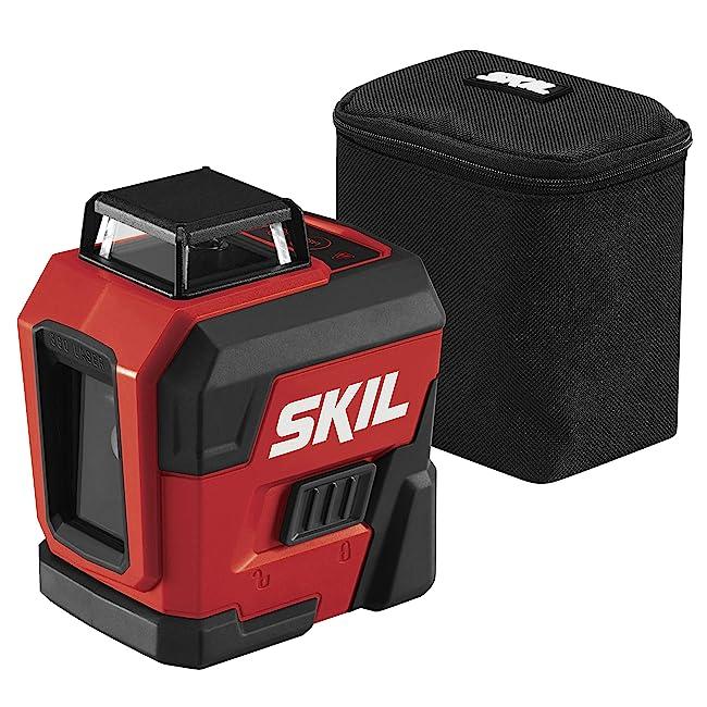 SKIL Self-Leveling 360-Degree Cross Line Laser LL932201 Review