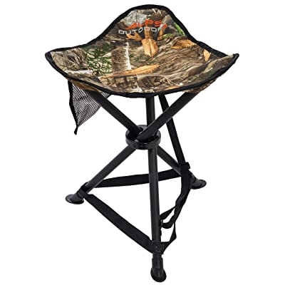 ALPS OutdoorZ Tri-Leg Hunting Stool, Realtree Edge : Camping Stools : Sports & Outdoors