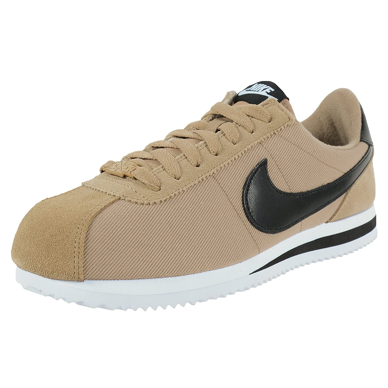 Preescolar Circunferencia Caballero amable  Buy Nike Men's Cortez Basic PREM QS, Desert CAMO/Black-White (10) at  Amazon.in