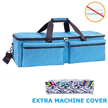 11ca9d836874 KGMcare Carrying Bag Compatible with Cricut Explore Air and Maker,  Waterproof Tote Bag Compatible with Cricut Explore Air and Supplies- (Blue)