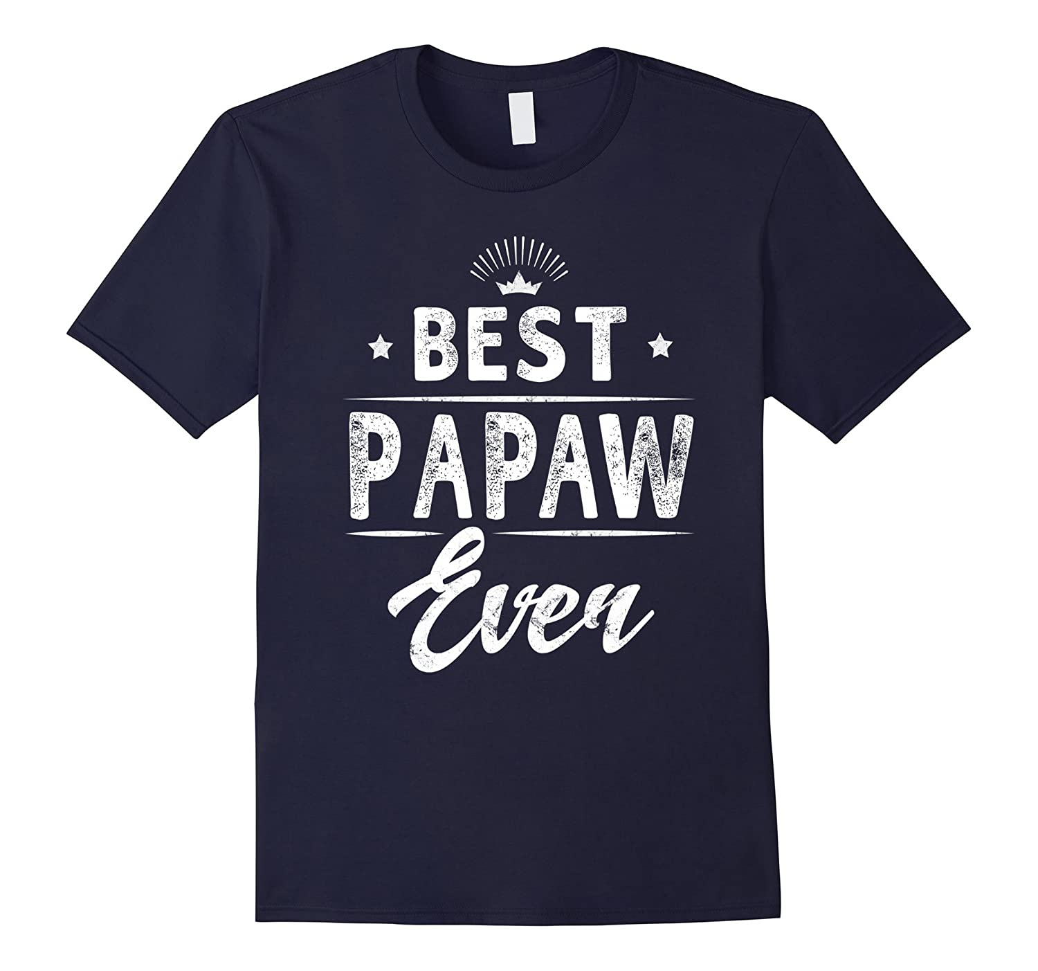 Best Papaw Ever Grandpa Fathers Day Gifts Mens T-shirt-Vaci