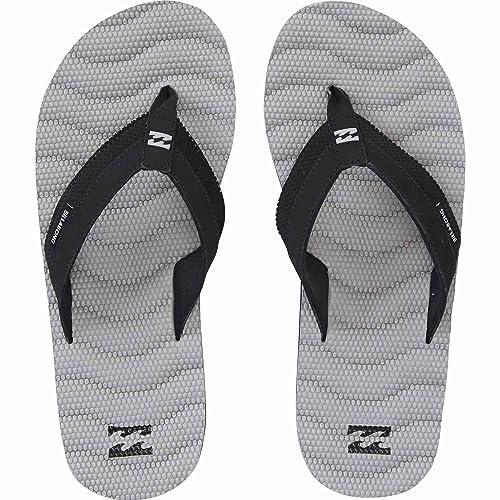 b672bc6ac57a3 Billabong Men's Dunes Impact Non Slip Water Resistant Sandal Flip Flop