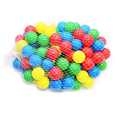 Big Ol' Ball Toyz 5.5 cm Soft Touch Fun Ball Pit Balls Phalates Free: Sports & Outdoors