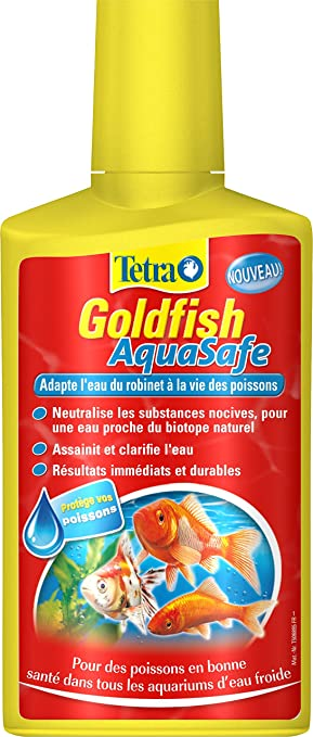 Tetra Goldfish AquaSafe - Acondicionador de agua para peces rojos - 250 ml: Amazon.es: Productos para mascotas