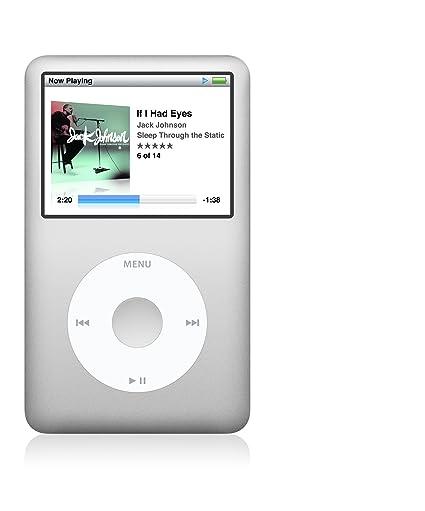 amazon com apple ipod classic 120 gb silver 6th generation rh amazon com iPod Classic 2nd Generation iPod Classic 5th Generation