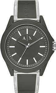 ARMANI EXCHANGE Men's Quartz Watch analog Display and PU Strap, AX2638