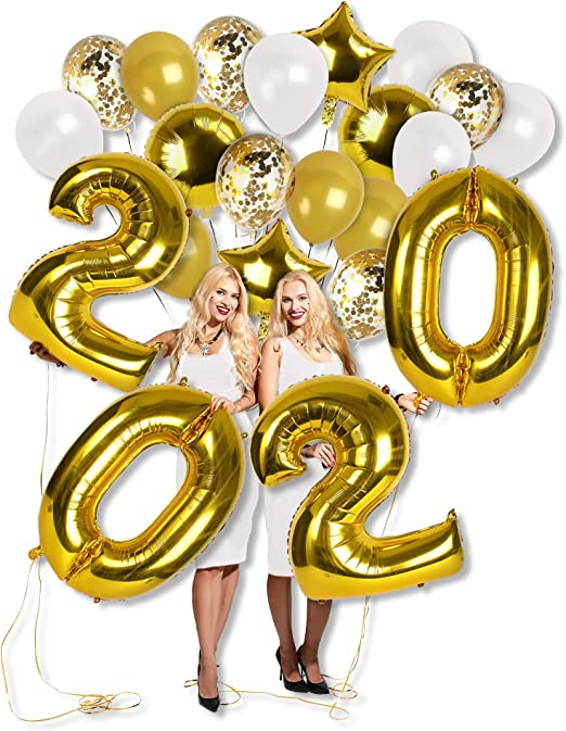 Silver 16 inch Foil Letter Balloon Pack for Graduations party WELL DONE
