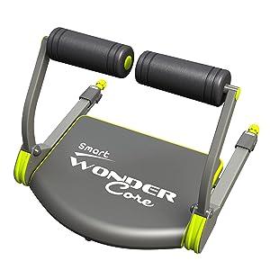 Wonder Core Smart Fitness Equipment, Black/Green