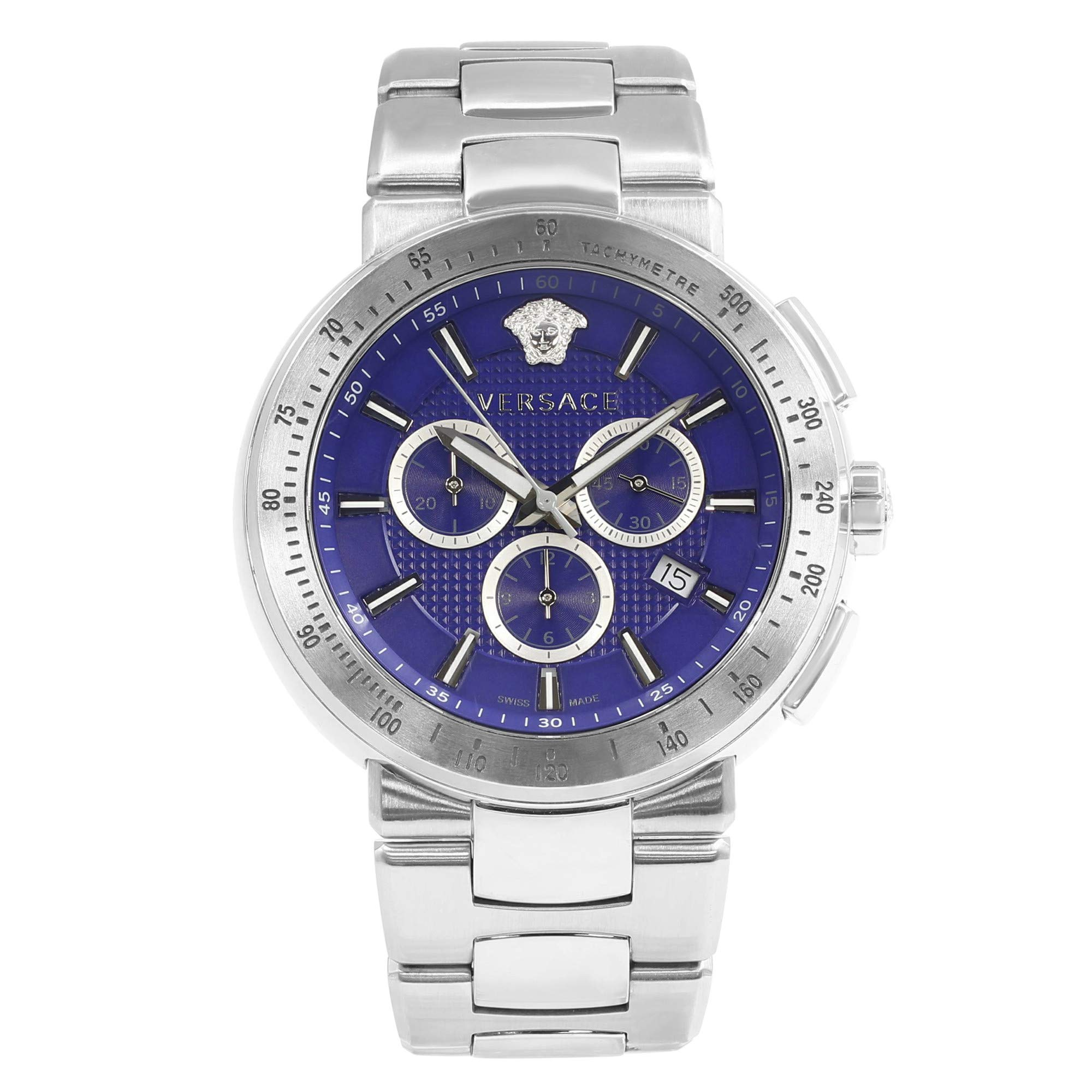 Versace Mystique Quartz Male Watch VFG120015 (Certified Pre-Owned)