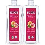 ECOS Dishmate Dish Liquid, Grapefruit 25 oz. (Pack of 2)