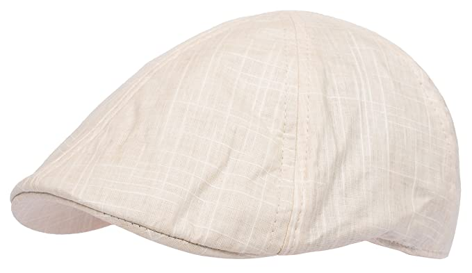 6d52caf2 DRY77 Gatsby Ivy Hat Flat Cotton Newsboy Duckbill Cap Men Driving Golf  Summer, Khaki,