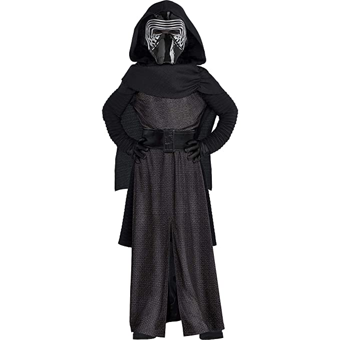 Amazon.com: Costumes USA Star Wars 7: The Force Awakens Kylo ...