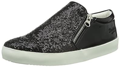 FDAG035, Zapatillas para Mujer, Negro, 38 EU Fiorucci