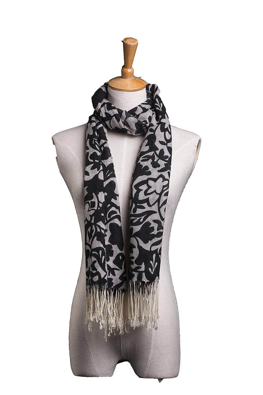 Women's 100% wool printing towel scarf