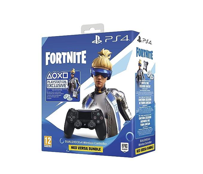 Sony - DualShock 4 V2 Fortnite VCH 2019 500 Vbucks, Negro ...