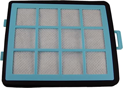 Filtre HEPA Allergie Poussière micro-filtre pour Philips HR 8546//02 HR 8556