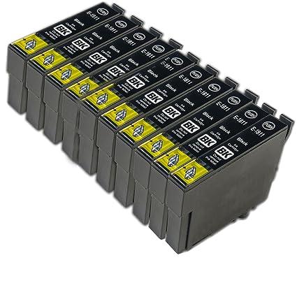 Gurú de tinta de repuesto para EPSON 18 X L negro cartuchos de ...