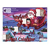 The Original Mochi Squishy Toys Advent Calendar for Kids 2019 Edition, with 24 Different Mochi Squishies Including an Exclusive Large Santa & Snowman! Christmas Countdown Calendars for Girls and