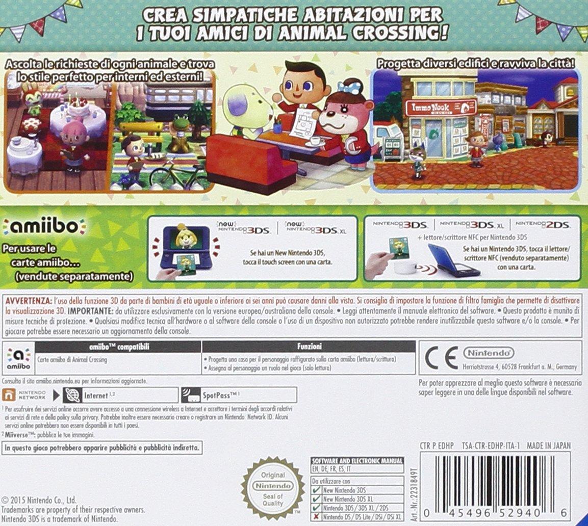 Animal Crossing: Happy Home Designer [Importación Italiana ...