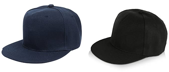 2fbd5c9842a Michelangelo Navy and BLACK HIP-HOP Baseball Cap Trucker Hat Half net Plain  Curved Visor