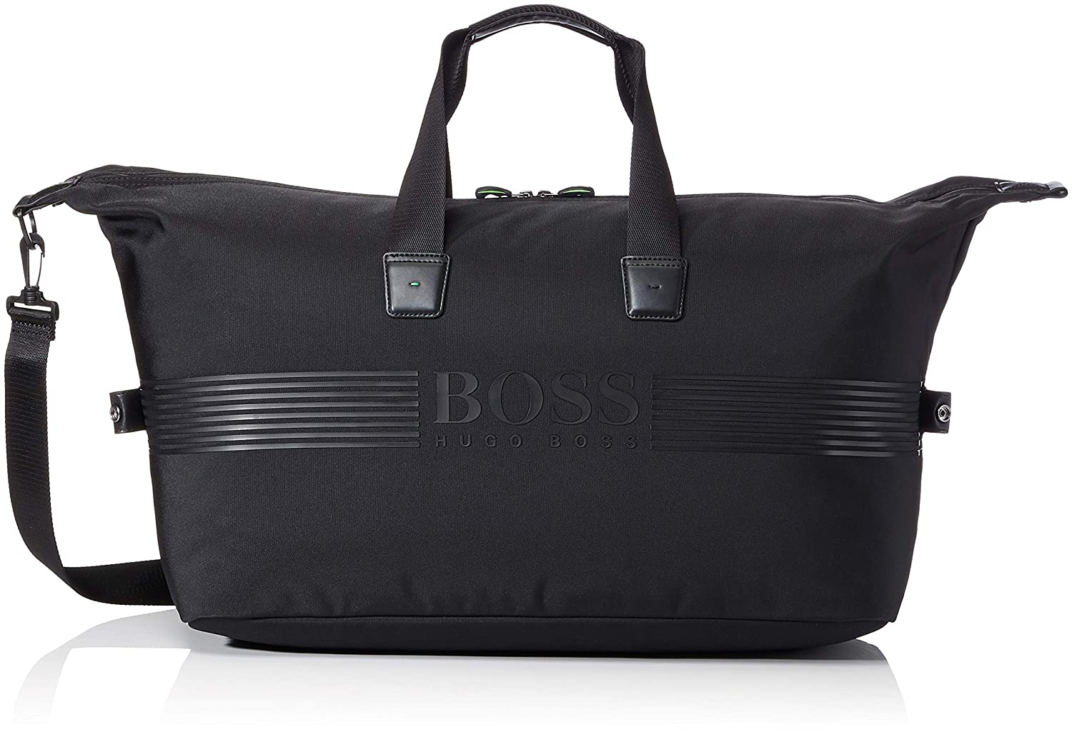 BOSS Athleisure Men's Pixel_holdall Bag BOSS Athleisure Pixel_holdall Men's Bag Black (Black 001) 27x28x52 cm (B x H T)