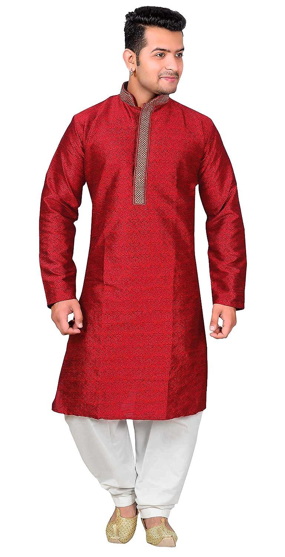 Desi Sarees Men's Kurta Shalwar Kameez Pajama Sherwani Party Wear 1825