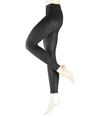 ESPRIT Damen Leggings Moiree, Schwarz (Black 3000), 36  Amazon.de ... 0c387fcf26