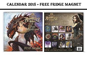 Kühlschrank Kalender : Alchemy gothic offizieller kalender celebrity kühlschrank