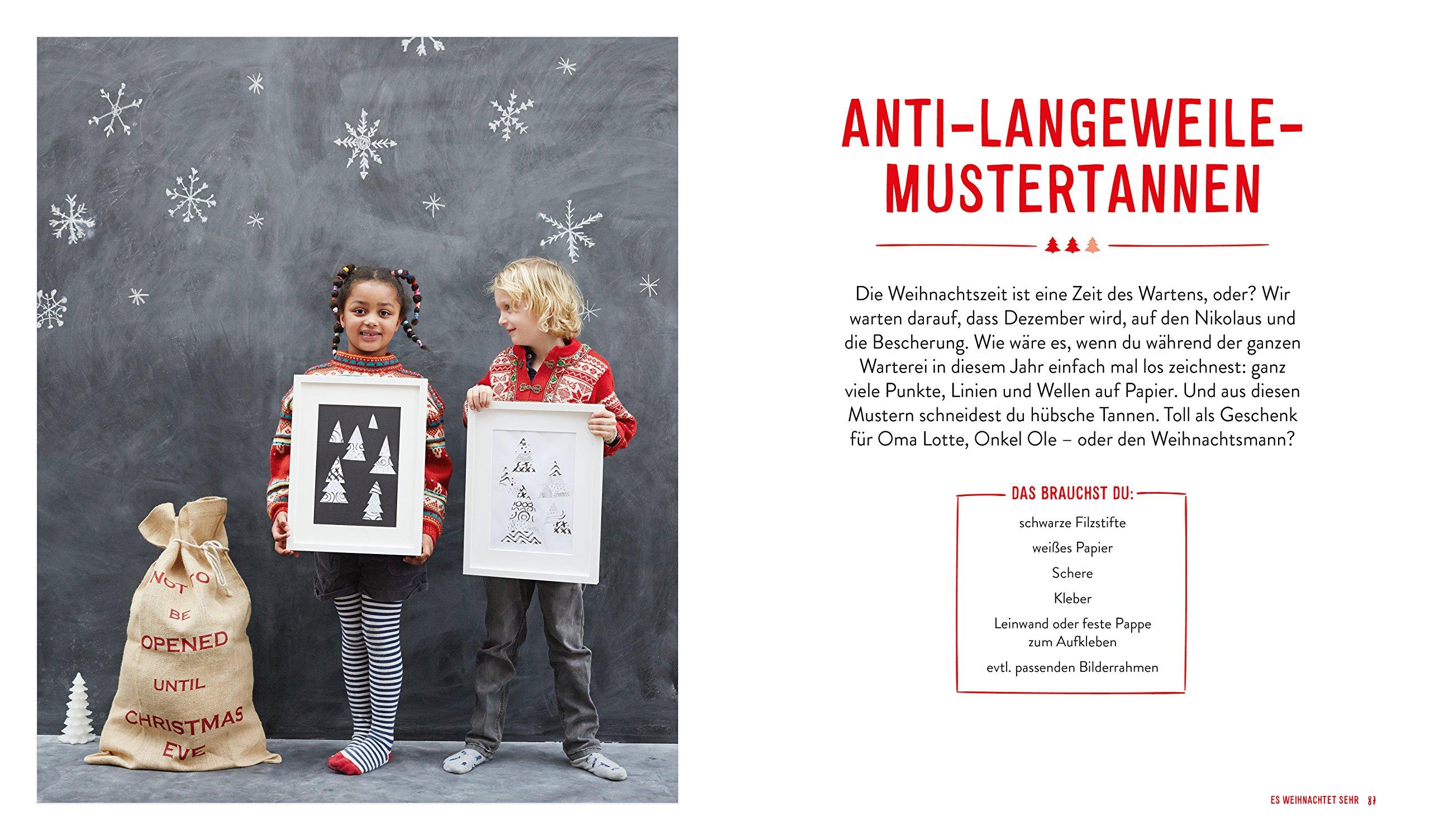 Das Kinderkunst-Kreativbuch - Winter und Weihnachten: Amazon.de: Claudia  Schaumann: Bücher