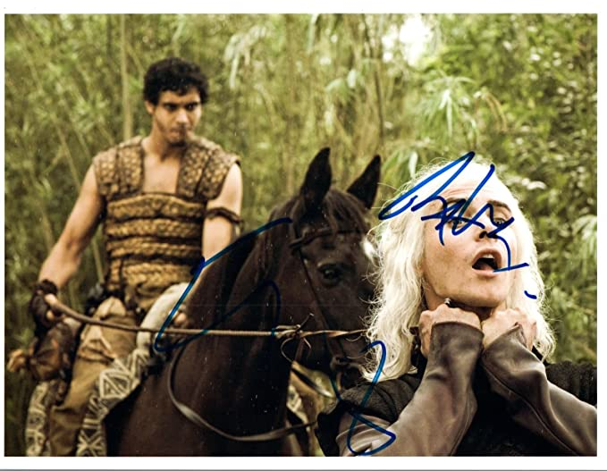 Elyes Gabel Signed Autographed 8x10 Photo Scorpion Game Of Thrones