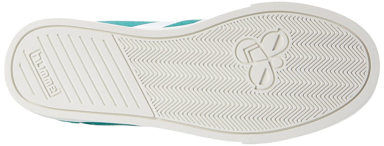 Hummel Unisex-Erwachsene Slimmer Stadil Grün Waxed Canvas Lo-Top Niedrig Grün Stadil (Ultramarine Grün) 0c8473