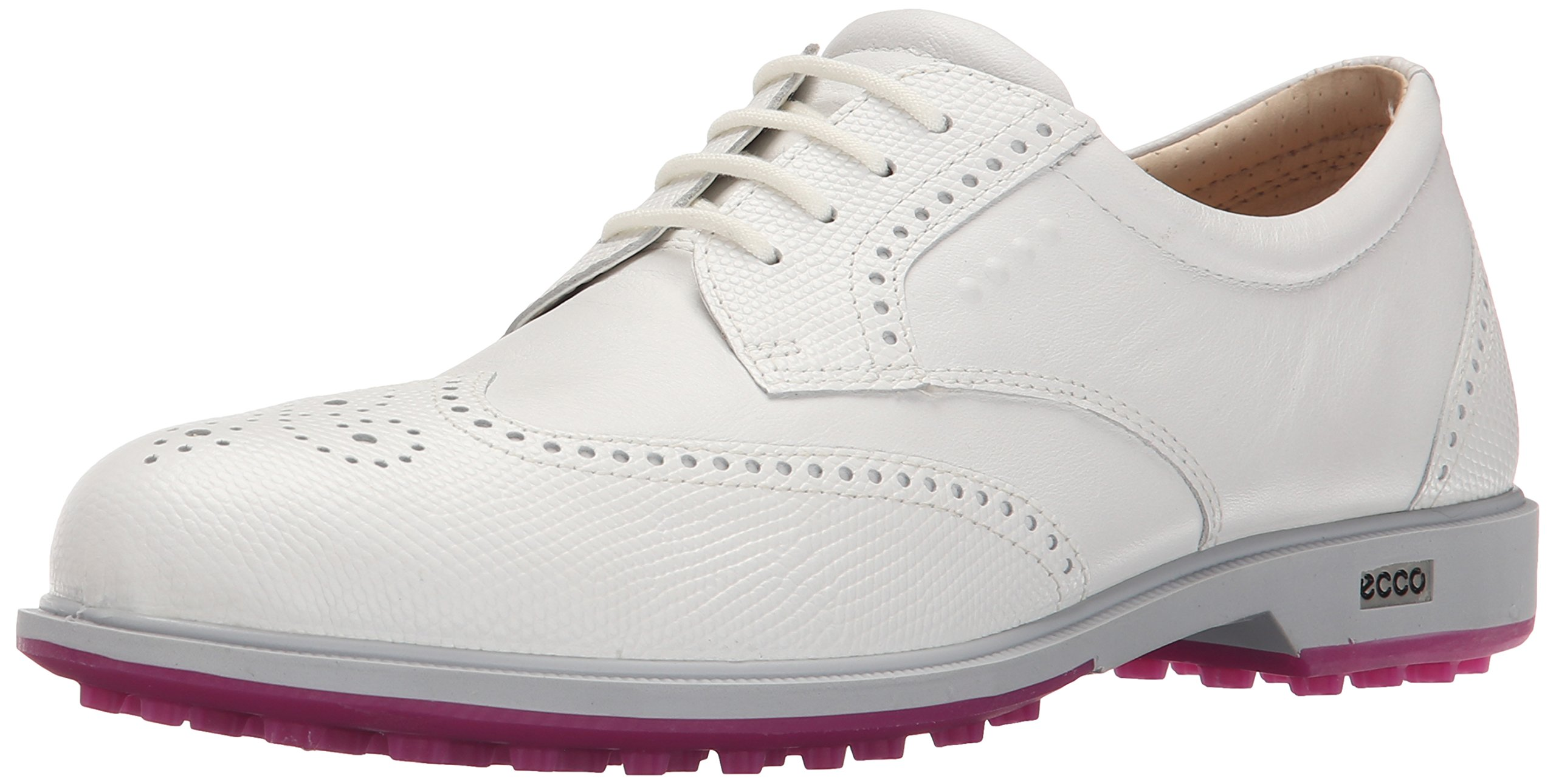 ECCO Women's Classic Hybrid Golf Shoes, Weiß, Weiß (53301WHITE/WHITE), 4 UK