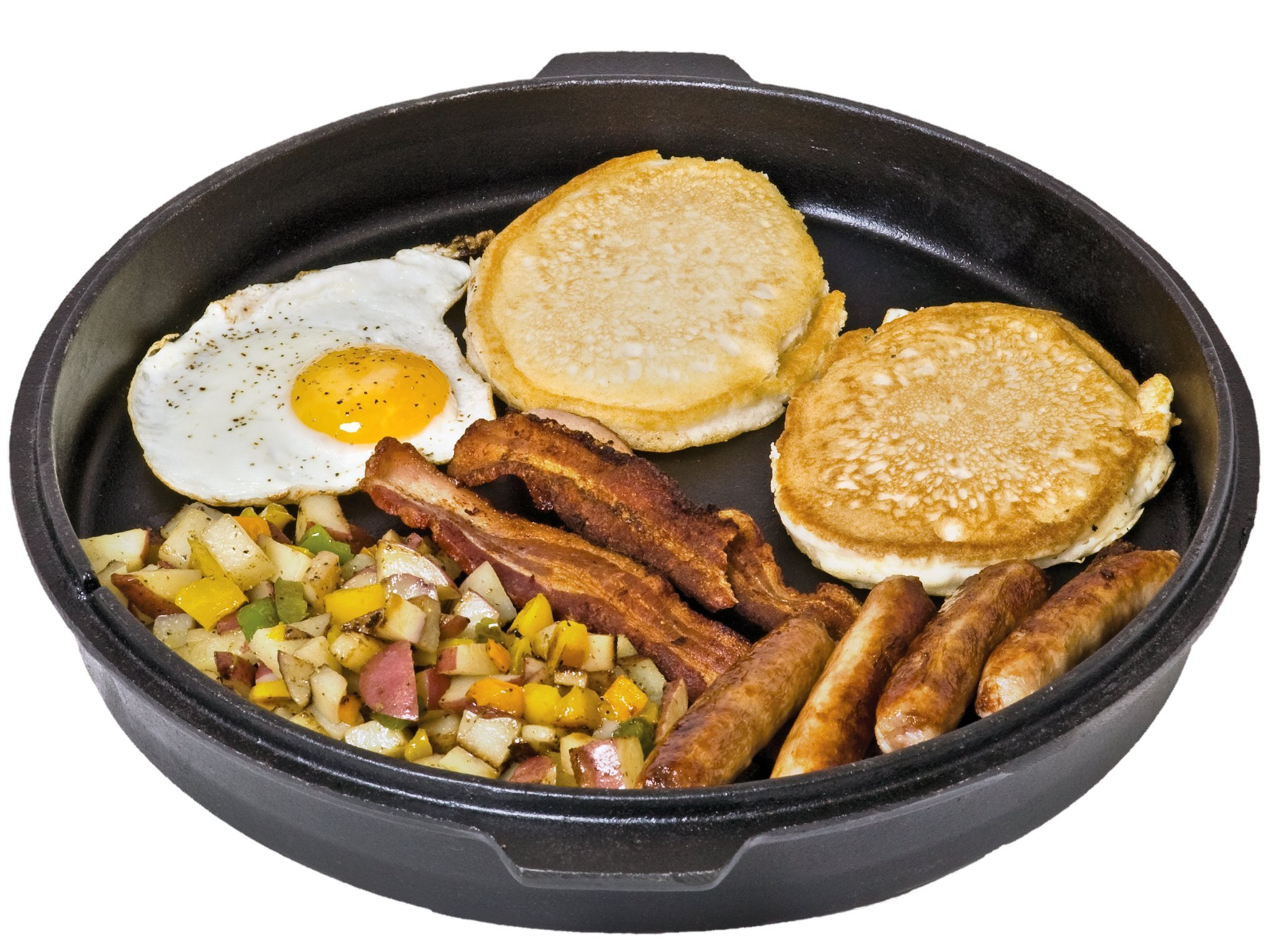 Camp Chef DO10 -  6 Quart Dutch Oven Pre-Seasoned Cast Iron with Lift Tool and Lid