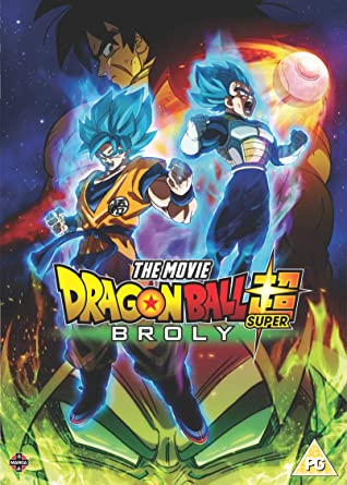 Db super broly movie