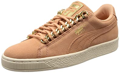 PUMA Suede Classic X Chain Trainers Pink: Amazon.co.uk