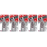 E6000 237032 Multipurpose oMEAsL Adhesive, 2 fl oz Clear (Pack of 5)