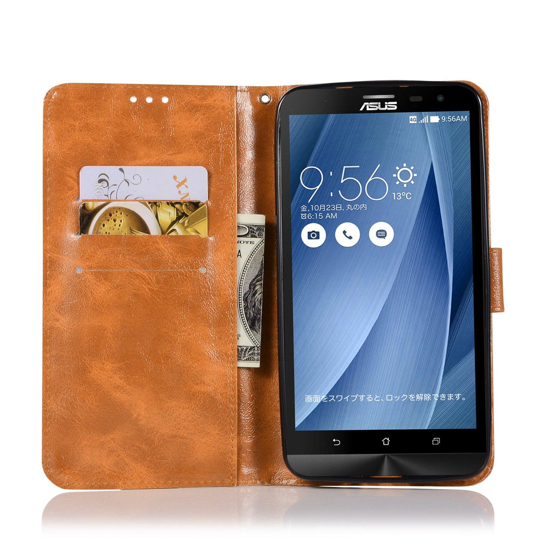 BCIT Asus Zenfone 2 Laser ZE601KL Funda - Carcasa Libro de ...