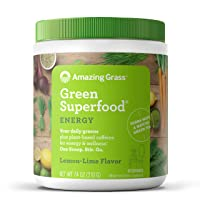 Amazing Grass Green Superfood Energy: Super Greens Powder & Plant Based Caffeine...