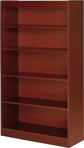 Lorell 89053 5 Shelf Panel Bookcase