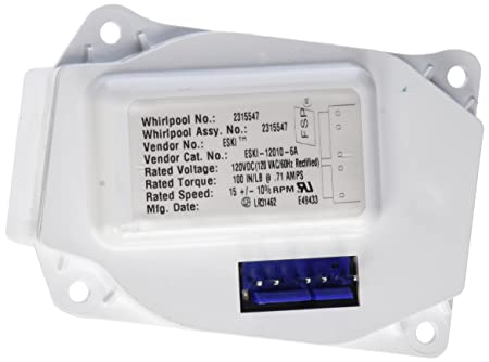 Whirlpool W10271509 motor de impulsión de hielo: Amazon.es ...