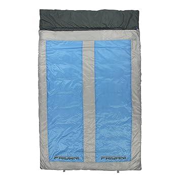 Fridani QB 225d 2 Personas XXL Camping Saco de Dormir de hasta 8 °C Outdoor