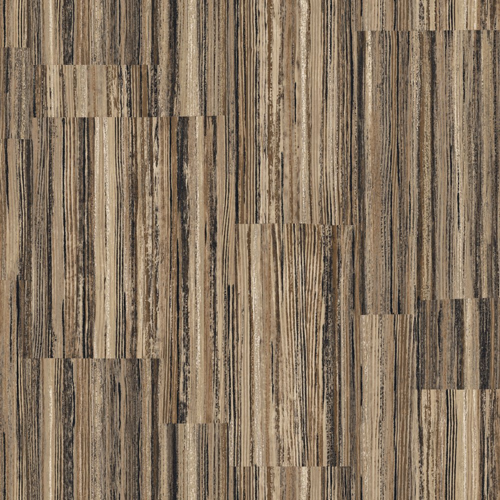 Decorate By Color Brown Patchwork Stripe Wallpaper BC1581264