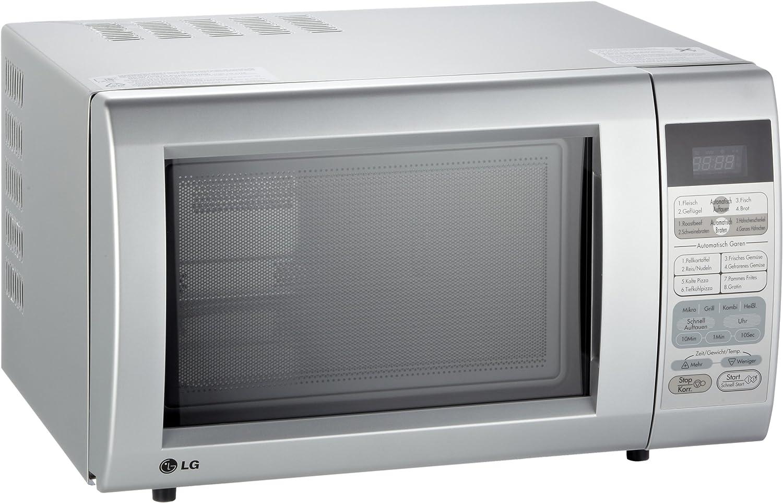 LG MC-7644AS, Plata, LED - Microondas: Amazon.es: Hogar